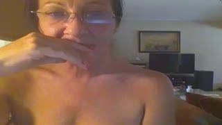 Female Masturbation - Hot Skype milf
