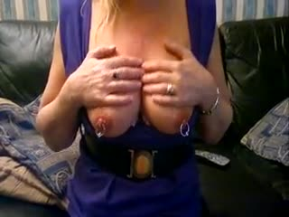 Tit Massage - TITS OUT FOR THE BOY,S