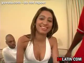Latina - Latin Whore In A Foursome