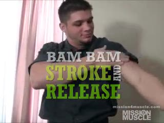 Male Masturbation - Bam Bam huge cock