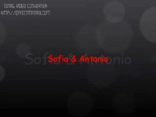 - un Piccolo gioco di Sofia e Antonio