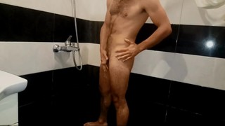 Missionary - Hairy man in the shower