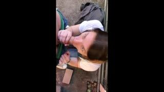 Blow Job - Excursion with my GF ended with a blowjob