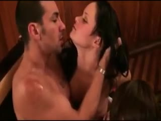 Orgy/Foursome - Group of amateur kinky sluts wild party and hard...