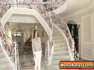 Tarte à la crème - Horny Milf Seduced her Step-daughter's Boyfriend