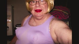 Travesti - Blond and breast
