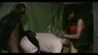 Gang Bang - TWO STALLIONS BLACKS BREAKING THE ASS