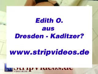Striptease - Edith from Dresden (Germany)