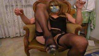 Fisting - mistress fist me ( on sissy)
