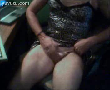 Hose in pantie transsexual
