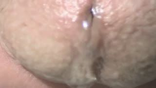 Huge cock - Precum Overflow