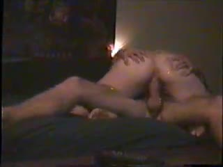 Cowgirl/She on top - Slapping wifes ass while she rides me