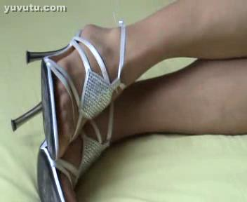 - Amateut My wife - great nylon heels footjob and ...