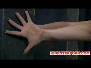 Bizzare - Slave Sarah Blake Pervert BDSM in Bizarre Nail B...
