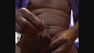 Bizzare - insertion vibro clito full in peehole cock