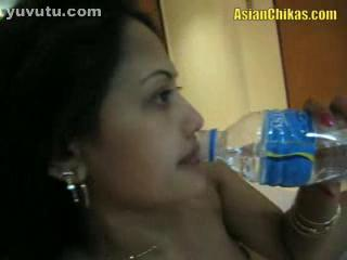 - AsianChikas amateur babe Lia sucks and gets Fing...