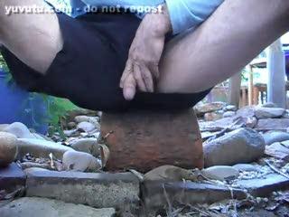 Voyeur - Peeing in the Garden