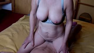 Mature - 60plus couple Lady first