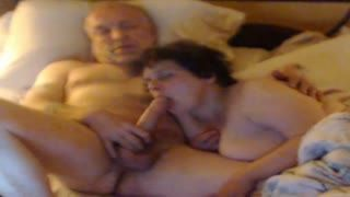 Blow Job - Cum swallowing Granny