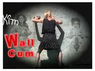 TV - Kim -Wall cum with Futanari