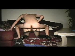 Levrette - hot cple having a quicky at home