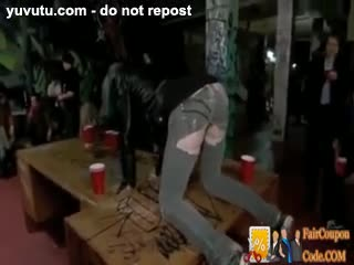 Gang Bang - Cute Tatoo Girl gets Humiliated in Gang Bang in ...