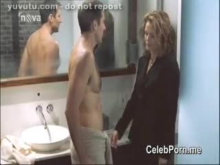 Mature - Dina Meyer nude video