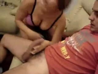 Threesome - wife fuck his husband friend