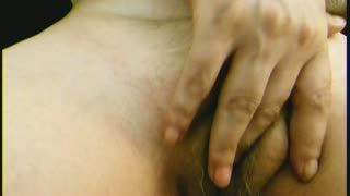 Cabeludo - Playing with her hairy pussy 4U2C