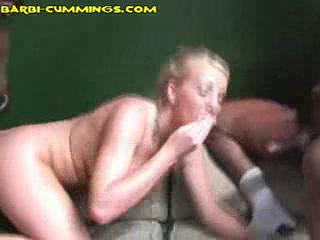 Orgy/Foursome - White Throat Black Cock