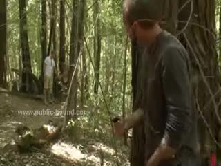 - Couple of gays caught in the forest and Convince...