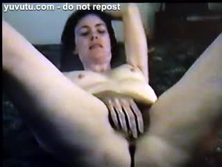 Female Masturbation - mature MILF - My Orgasm