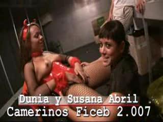 Lesbian Sex - Susana Abril come a Dunia Montenegro