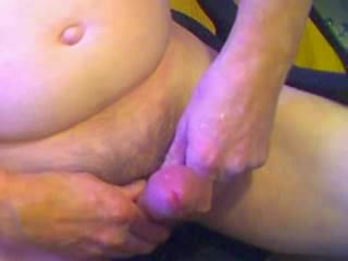 Male Masturbation - crazy cum