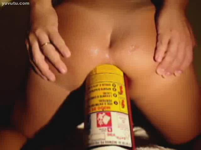 Car Extinguisher anal insertion