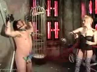 BDSM - Punk Rocker Spanking