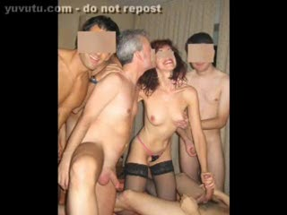 Gang Bang - PARTY (last part) DP and CUMSHOT