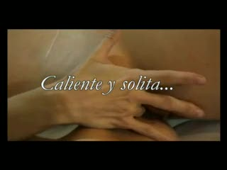 Female Masturbation - Ana sola y caliente /// Ana hot lonely