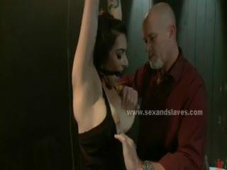 BDSM - Sex slave rough bondage sex video