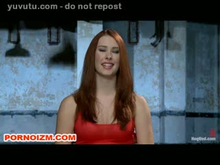 Hogtied Lesbian Slave Anikka in Bondage