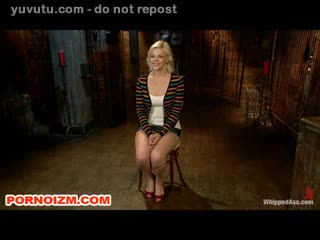 Fisting - Lesbian Slave in Bondage Torments and Fisting