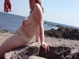 Flashing/Public - beach sex