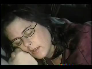 Facial - cum on jizzjunkie glasses